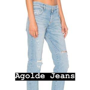 Agolde Isabel Slim Boyfriend Jeans